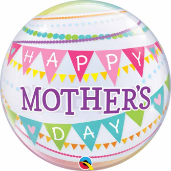 Image de MOTHER'S DAY PENNANTS BUBBLE BALLOON