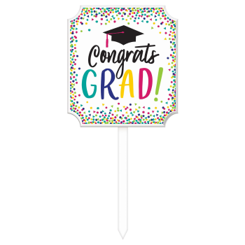Picture of DECOR - YAY GRAD LAWN YARD SIGN