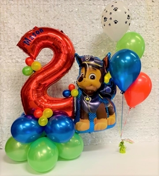 Picture of 1 MARQUEE - ANY 2 SUPERSHAPE / 4 HELIUM FILLED LATEX