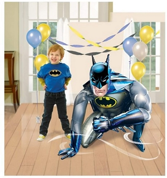 """Picture of 44""""  GIANT GLIDING BALLOON - BATMAN - AIR FILLED"""