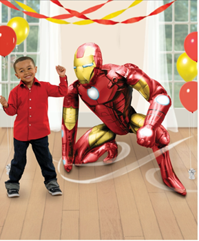 """Picture of 46"""" IRON MAN AIRWALKER - AIR FILLED"""