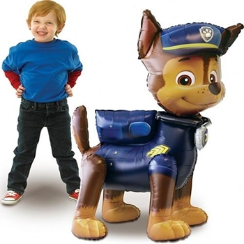 """Picture of 54"""" PAW PATROL CHASE AIRWALKER - AIR FILLED"""