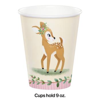 Image de LITTLE DEER BIRTHDAY - 9oz CUPS