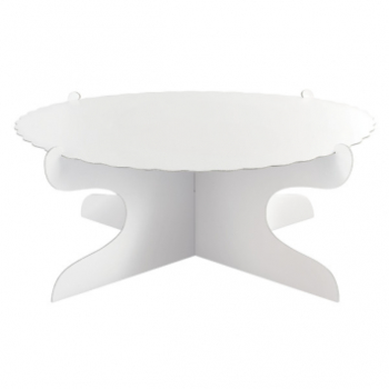 Picture of CAKE STAND - WHITE
