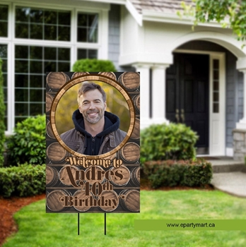 Picture of LAWN YARD SIGN - ADULT BIRTHDAY- PERSONALIZE