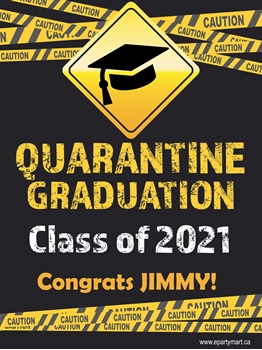 Picture of LAWN YARD SIGN - GRAD - ADD A NAME