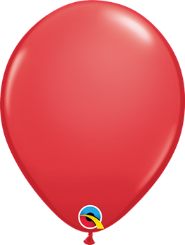 """Image de HELIUM FILLED SINGLE 11"""" BALLOON - PEARL RED"""