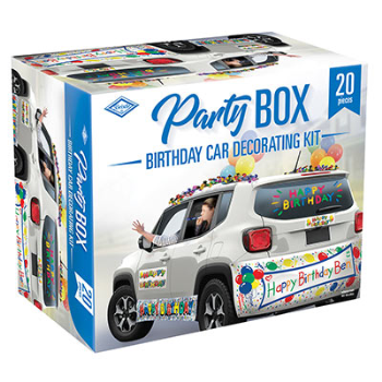 Picture of DECOR - BIRTHDAY CAR PARTY BOX