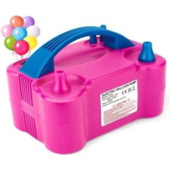 Picture of 1 BALLOON AIR INFLATOR - PINK - ELECTRIC
