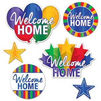 Image de DECOR - WELCOME HOME CUT OUTS