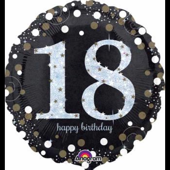 "Image de 18"" FOIL - SPARKLING 18TH BIRTHDAY"