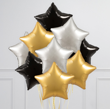 Picture of BB26 - REACH FOR THE STARS FOIL BOUQUET - ANY COLOURS