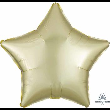 """Image de 18"""" FOIL - LUXE PASTEL YELLOW STAR"""