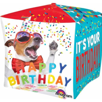 Picture of 15'' BIRTHDAY PET CUBE FOIL