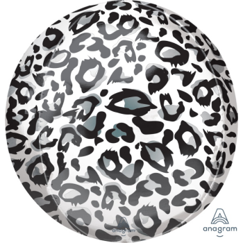 Picture of 21'' SNOW LEOPARD ORBZ BALLOON