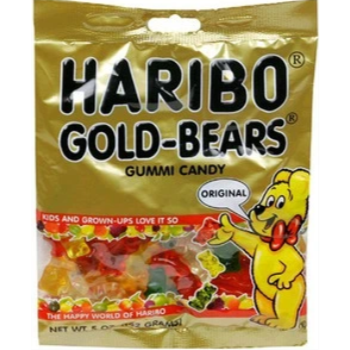 Picture of 1 PACK HARIBO GOLD BEARS
