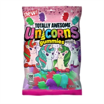 Picture of 1 PACK TOPPS TOTALLY AWESOME - UNICORN GUMMIES