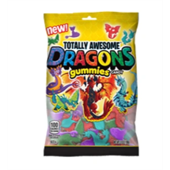 Picture of 1 PACK TOPPS TOTALLY AWESOME - DRAGON GUMMIES