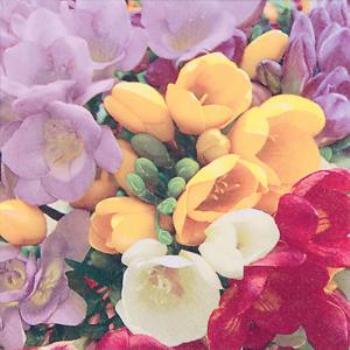 Image de COLORFUL FLOWERS - LUNCHEON NAPKINS