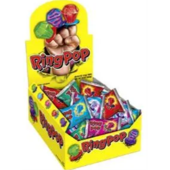 Picture of 1 PACK RING POP - FRUIT