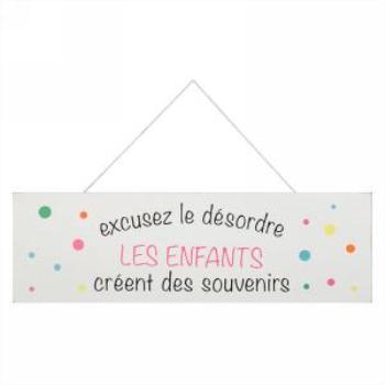 Image de EXCUSE LE DÉSORDRE WALL PLAQUE
