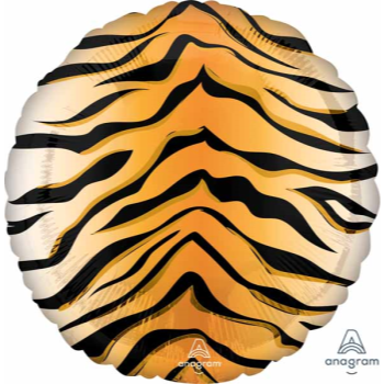 """Picture of 18"""" FOIL - TIGER PRINT"""
