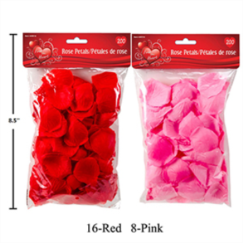 Picture of DECOR - ROSE PETALS PINK OR RED