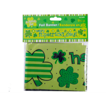 Picture of ST PATRICK'S FOIL BANNER