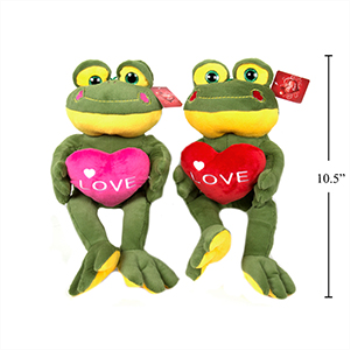 Picture of DECOR - PLUSH SITTING FROG