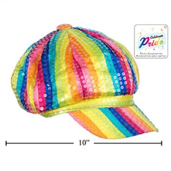 Picture of PRIDE RAINBOW SEQUIN CAP