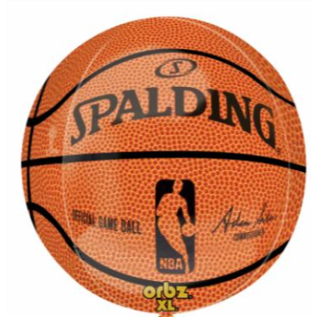 Picture of 21'' BASKET BALL ORBZ BALLOON