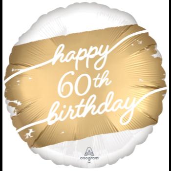 "Image de 18"" FOIL - GOLDEN AGE 60TH BIRTHDAY"