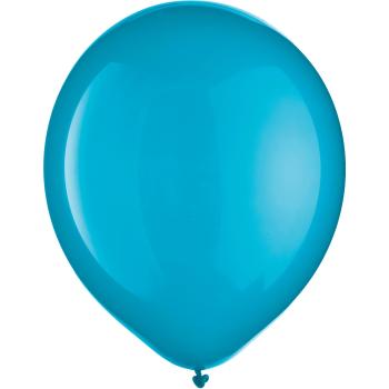 "Image de 12"" CARIBBEAN BLUE LATEX BALLOONS 72/PKG"