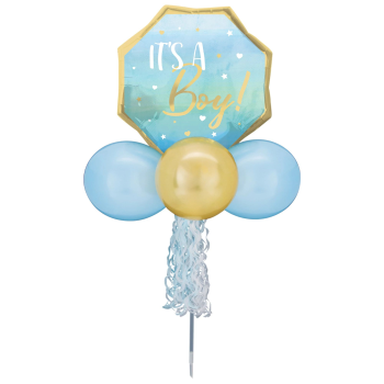Picture of BLUE BABY BOY BALLOON YARD SIGN