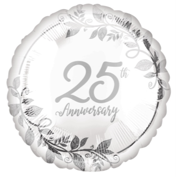 """Picture of 18"""" FOIL - 25TH ANNIVERSARY"""
