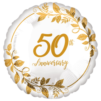 """Picture of 18"""" FOIL - 50TH ANNIVERSARY"""