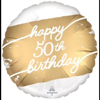 "Image de 18"" FOIL - GOLDEN AGE 50TH BIRTHDAY"