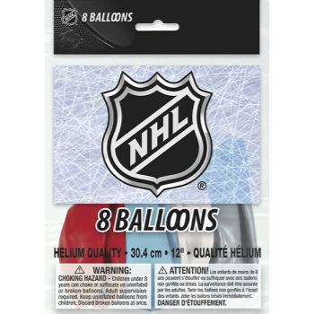 """Picture of NHL - 12"""" LATEX BALLOONS"""