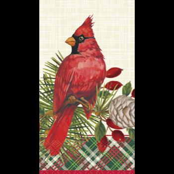 Image de TABLEWARE - RED CARDINAL XMAS GUEST TOWELS