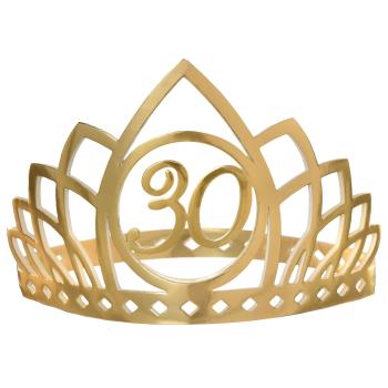 Image de 30th GOLDEN AGE BIRTHDAY CROWN