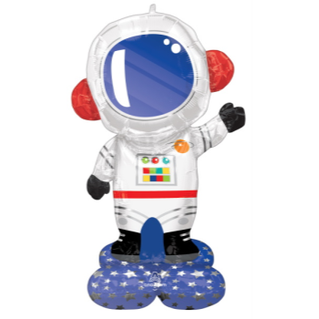 Picture of AIRLOONZ - ASTRONAUT - AIR FILLED