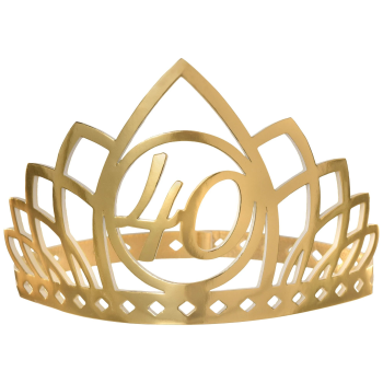 Picture of 40th GOLDEN AGE BIRTHDAY CROWN