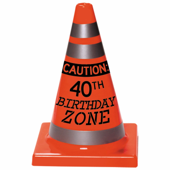 Picture of 40th BIRTHDAY CONE