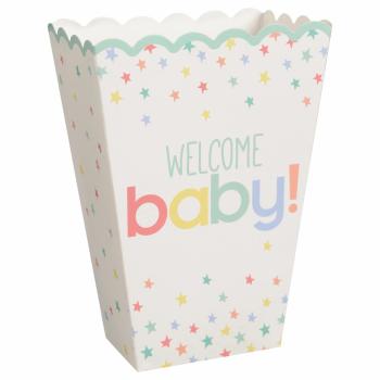 Image de DECOR - WELCOME BABY POPCORN BOXES