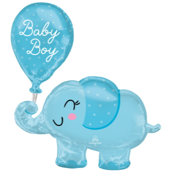 Picture of BABY BOY ELEPHANT SUPERSHAPE