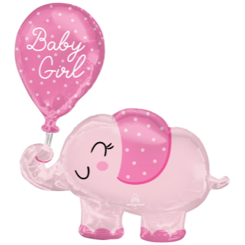 Picture of BABY GIRL ELEPHANT SUPERSHAPE