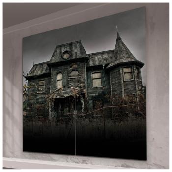 Image de IT PENNYWISE HOUSE 2PC SCENE SETTER