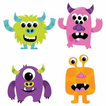 Image de Halloween Create Your Own Monster Craft Kit
