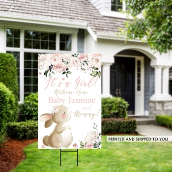 Picture of LAWN YARD SIGN - BABY - PERSONALIZED