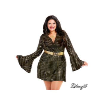 Picture of DISCO BABE COSTUME - WOMEN 2X